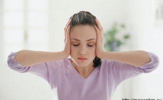 fejfájás masszázs